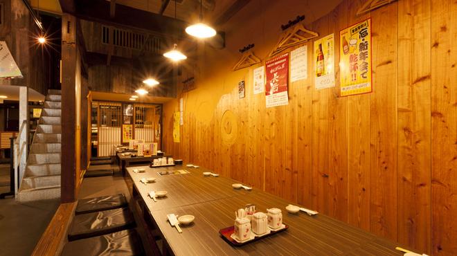 魚たつ - 内観写真:◆宴会にピッタリな掘りごたつ席◆