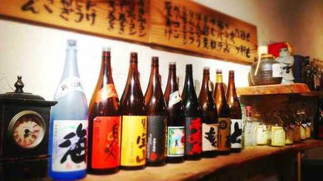 風見鶏 - 料理写真:地酒・日本酒種類を豊富にご用意!最高の1本にマッチしたお酒をお探し下さい!