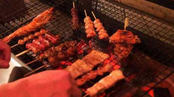 風見鶏 - 料理写真:一本一本丁寧に仕込んだ串を一本一本じっくり焼き上げます。