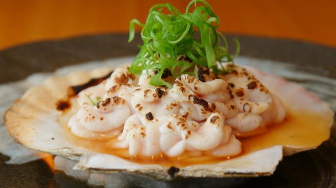 まえ田 - 料理写真:タラの白子つぼ焼風