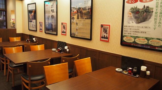 華や - 内観写真:テーブル席は全てつなげる事が可能です