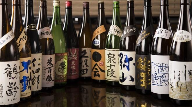 塚本鮮魚店 - 料理写真:たくさんのお酒もございます♪