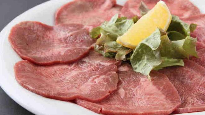 君乃家食堂 - 料理写真:牛タンは特上の部位だけを使用しています