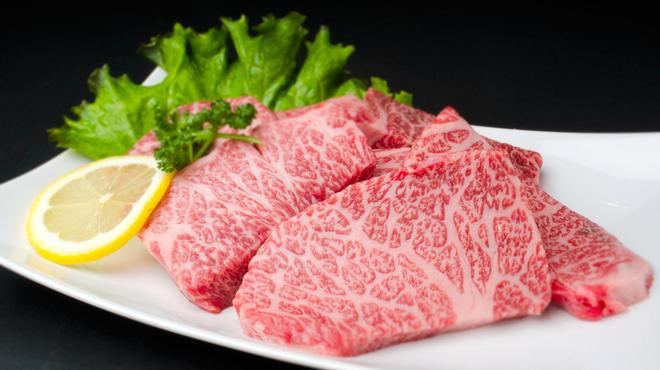 和牛焼肉 Beef Factory73 - 料理写真:特上カルビ