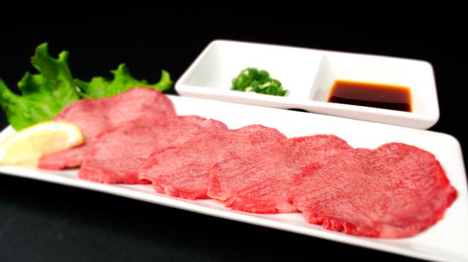 和牛焼肉 Beef Factory73 - 料理写真:黒タン刺し