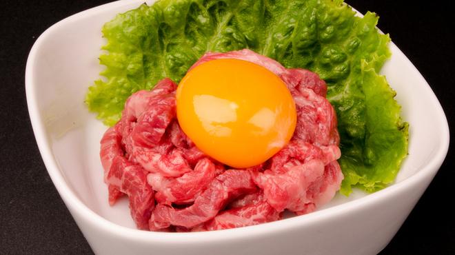 和牛焼肉 Beef Factory73 - 料理写真:ハラミユッケ