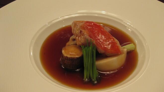 カミノハナ - 料理写真:金目鯛と根菜の煮物