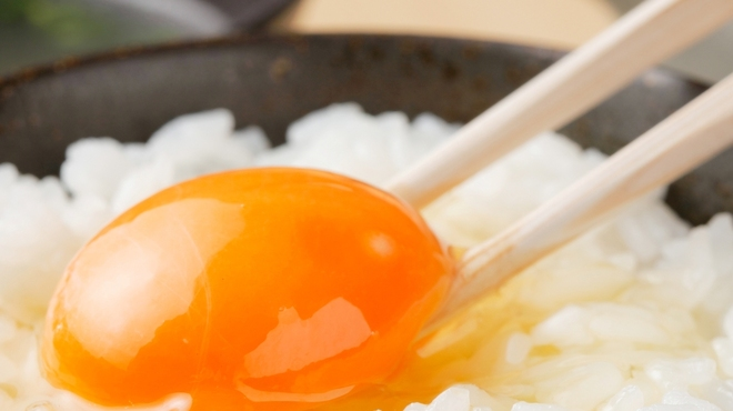 銀座とりや幸 - 料理写真:濃厚な比内地鶏の卵かけご飯