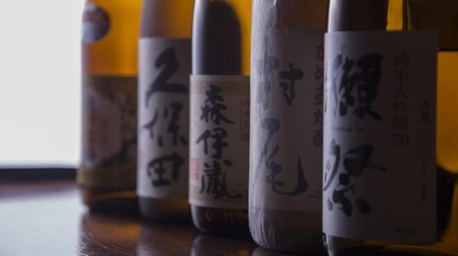 旬鮮ダイニング 凛家 - 料理写真:他では飲めないこだわりのお酒もご用意しております。