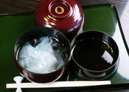 杉の井 - 料理写真:名物【くずきり】です。
