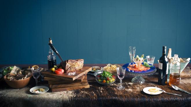 ザ・ミートショップ - 料理写真:宴会プラン 2時間飲み放題付で3,500円、4,000円、5,000円のプランをご用意しています。