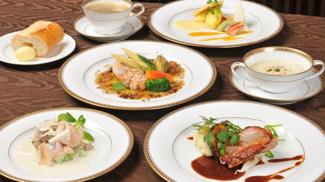 フレンチレストラン 千秋亭 - 料理写真:ランチコースイメージ