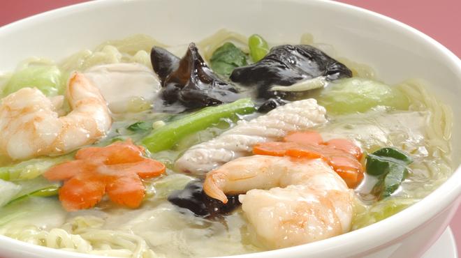 広東飯店 美香園 - 料理写真:海鮮入りつゆそば