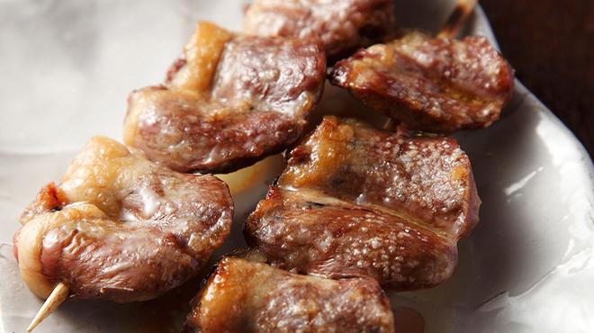 やきとり家すみれ - 料理写真:大ぶりで脂ののったプリっとジューシーな味わいのトロはつ。