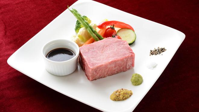 TAGEN DINING CAFE - 料理写真:A3和牛リブロースステーキと野菜のグリル(イメージ)