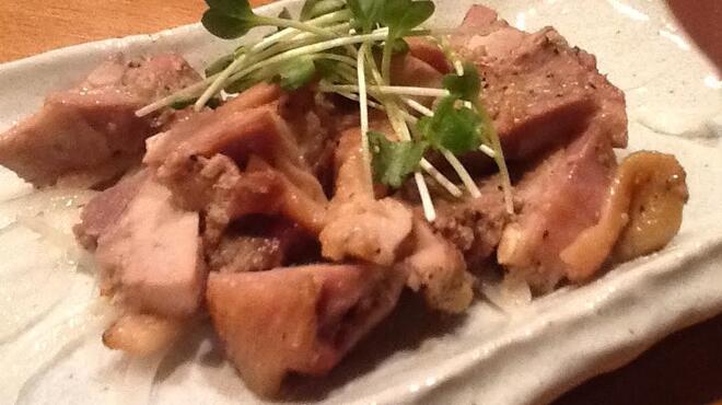 とりまんま - 料理写真:もも肉のコンフィ