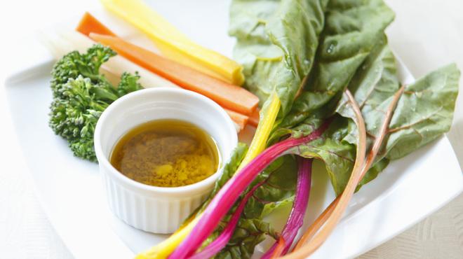 Soba Ristorante na-ru - 料理写真:無農薬野菜のバーニャカウダー