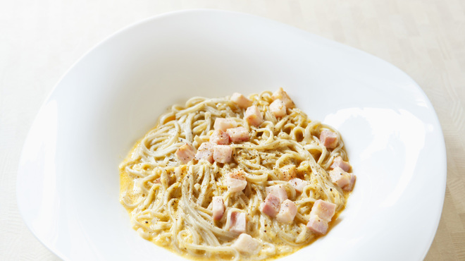 Soba Ristorante na-ru - 料理写真:蕎麦カルボナーラ