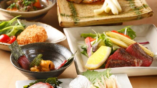 飯家(はんや)くーた - 料理写真:コース料理も御座います。写真は7350円の二人前。