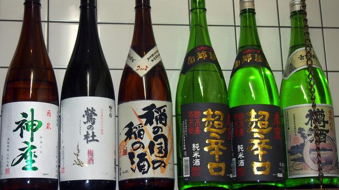 串づ串 - 料理写真:地元奈良県産を中心に日本酒を置いております。
