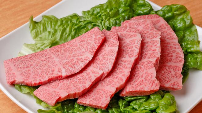 COWCOW - 料理写真:モモ肉の希少部位「ひうち」