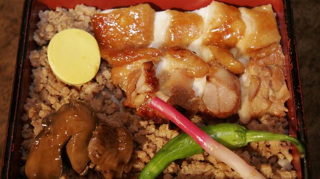 鳥めし 鳥藤分店 - 料理写真:鳥重