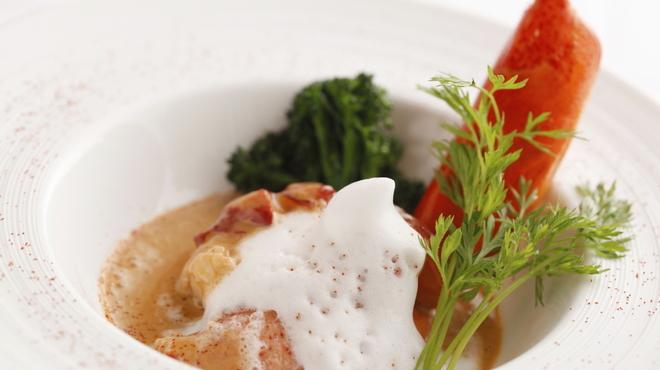 ラトラス - 料理写真:オマール海老のヴァプール