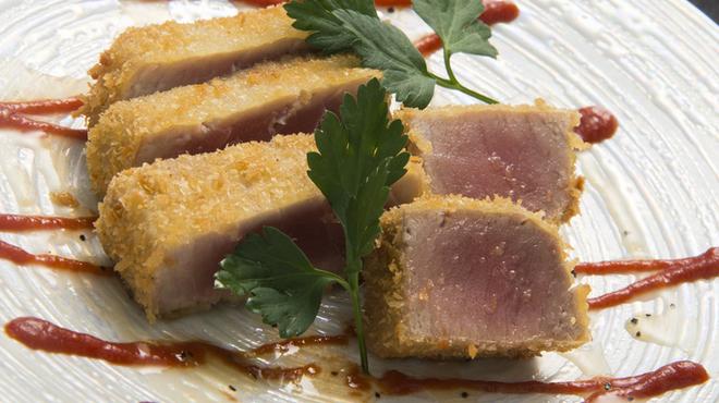 和が家 - 料理写真:ふんわりとした食感が絶妙『マグロレアフライ』