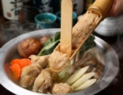 大分の鳥料理とお酒 如水 - 料理写真:コラーゲンたっぷりの九州本格水炊き。