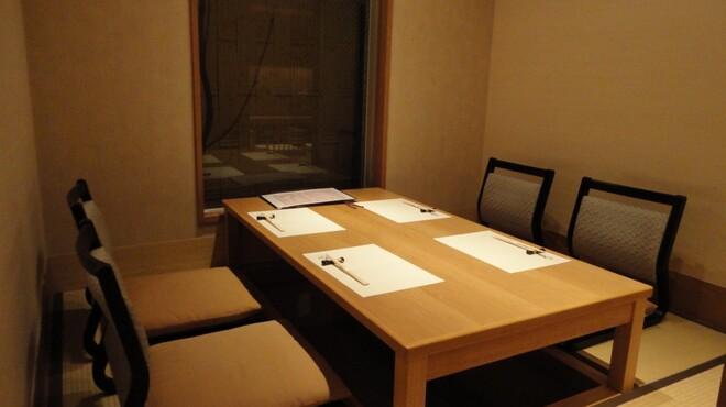 山乃薫 - 内観写真:ゆったりくつろげる掘りごたつのお席もございます