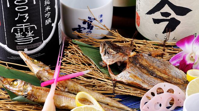 三喰撰酒 三重人 - 料理写真:自家製干物