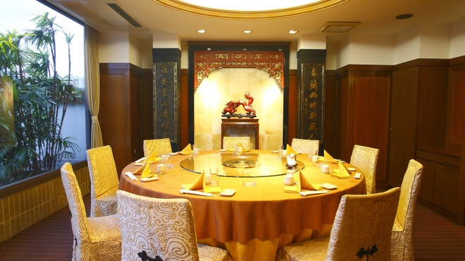 大珍樓 - 内観写真:デート・接待・宴会にお勧めの特別個室【金剛】4名~12名※要予約