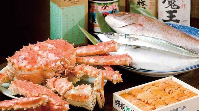 八千代 - 料理写真:新鮮な魚介類が豊富。