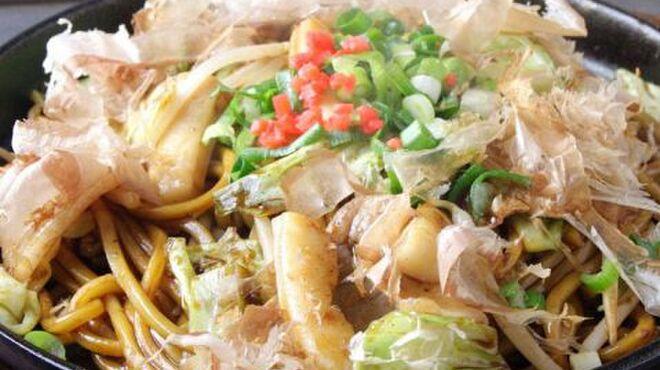 蛸のつぼ - 料理写真:焼そば☆ミックス焼そば、バター醤油そば、豚キムチそば、オムそば等