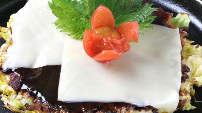 蛸のつぼ - 料理写真:お好み焼き☆彩りもきれいな創作お好み焼きもオススメですよ!