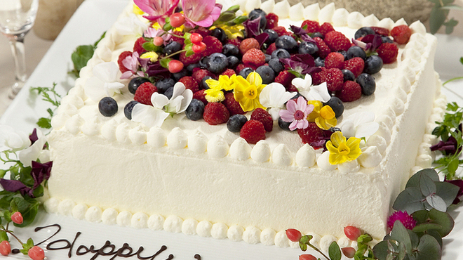 チャムアパートメント - 料理写真:パーティーケーキ