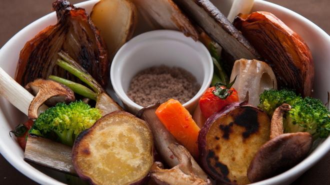 ソルビバ - 料理写真:人気No.1『季節野菜のロースト』