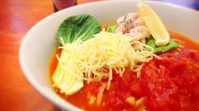 RYOMA本店 - 料理写真:【女性に人気☆】トマトたっぷり!伊太利ー麺