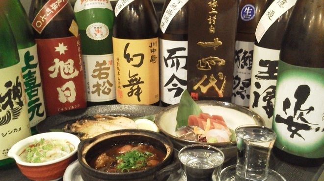 地酒と料理 高田馬場研究所 - メイン写真: