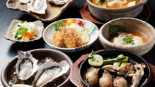 かきと旬鮮料理とおそば 開 - メイン写真:
