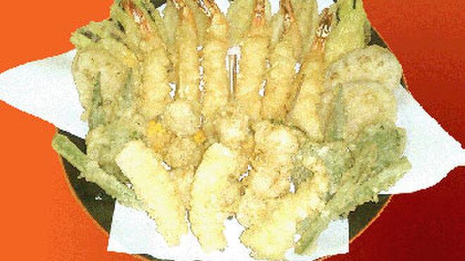 だるまの天ぷら定食 - メイン写真: