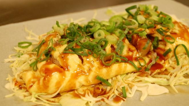 お好み焼き・鉄板居食家 徳兵衛 - 料理写真:とん平焼き