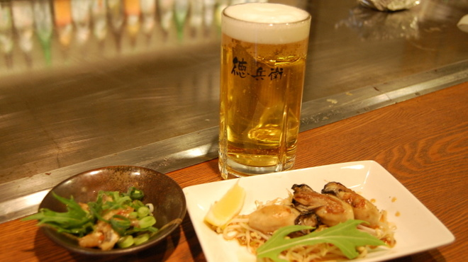 お好み焼き・鉄板居食家 徳兵衛 - 料理写真:晩酌セット