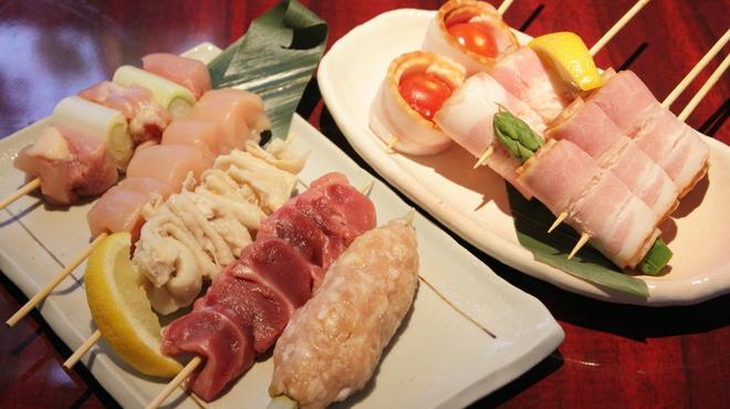 ゆずや - 料理写真:串焼き盛り合わせ