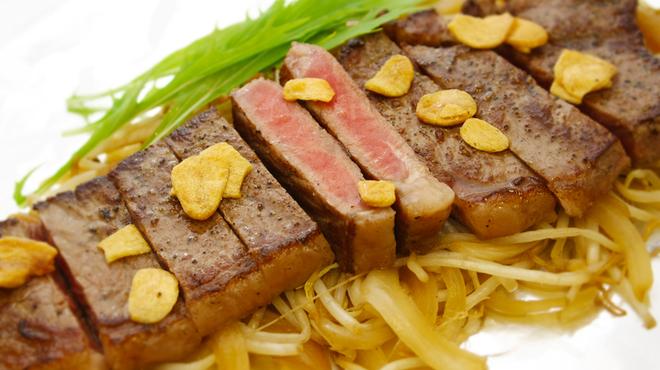お好み焼き 徳川 総本店 - 料理写真:サーロインステーキ