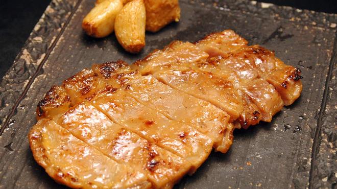 九州厨房 あらごし団 - 料理写真:「味噌豚」 味噌の香ばしい香りが食欲をそそります。
