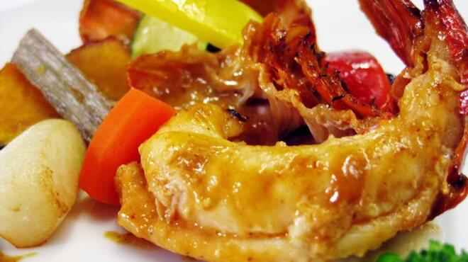 ソレイユ - 料理写真:プレミアムランチ「カナダ産オマール海老のアメリケーヌソース」¥2480(税別)