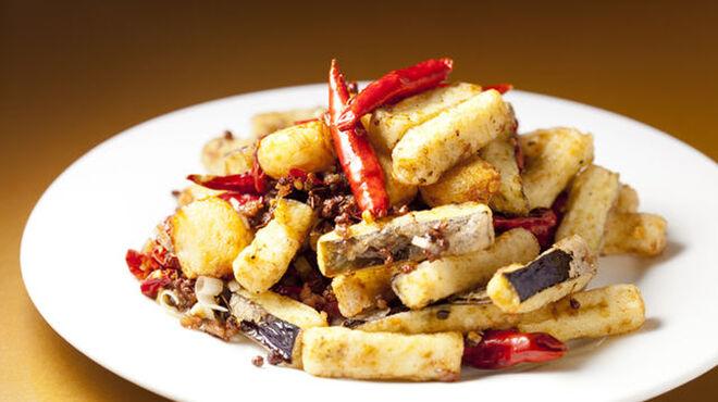 龍門 - 料理写真:なすのピリ辛炒め