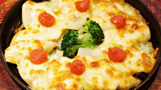 居酒屋北菜 - 料理写真:じゃがいもの明太チーズ焼き