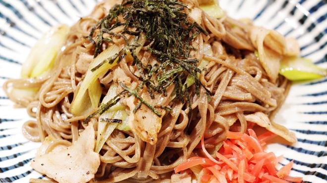居酒屋北菜 - 料理写真:日本蕎麦焼き